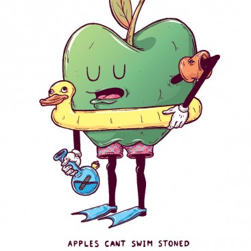 Apples Can't Swim Stoned