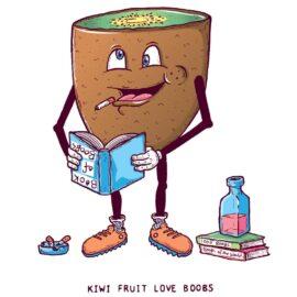 Kiwi Fruit Love Boobs