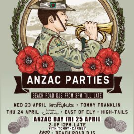 Anzac Day Parties