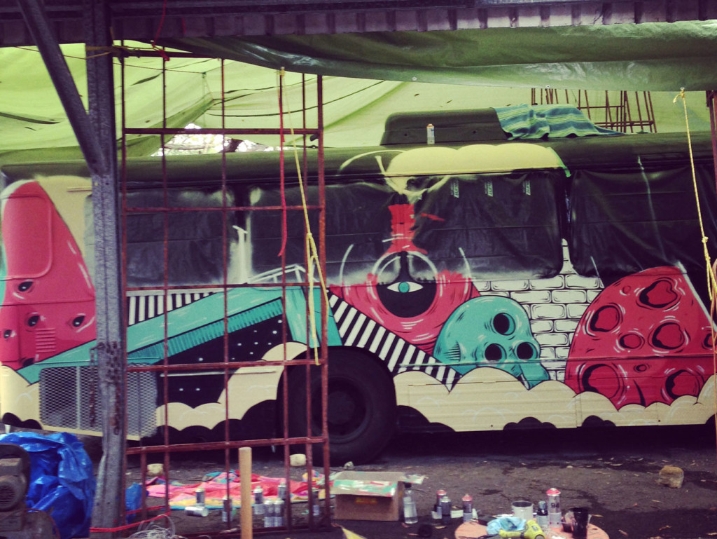 SIDE-BUS-MIDWAY-UNDER-COVER