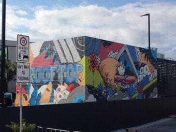 Westfield Miranda Mural