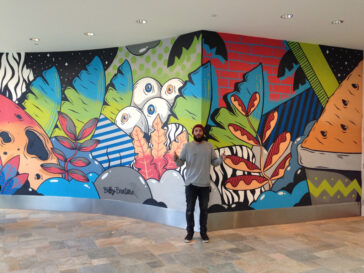 Westfield Miranda Internal Wall 2